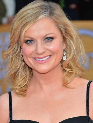 amy poehler rare promo headshot hot sexy parks and rec star