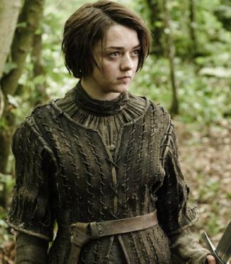 arya Game Of Thrones rare promo hot