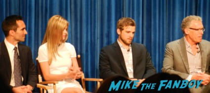bates motel cast q and a paley center Vera Farmiga! Freddie Highmore! Max Thieriot! Nester Carbonell! Nicola Peltz! Autographs! Photos! And More! vera farmiga freddie highm 011