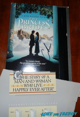 princess bride counter standee signed autograph carol kane signing autographs for fans geffen party billy crysta 003