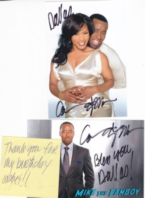 Courtney B. Vance signed autograph photo rare hot sexy singer photo shoot