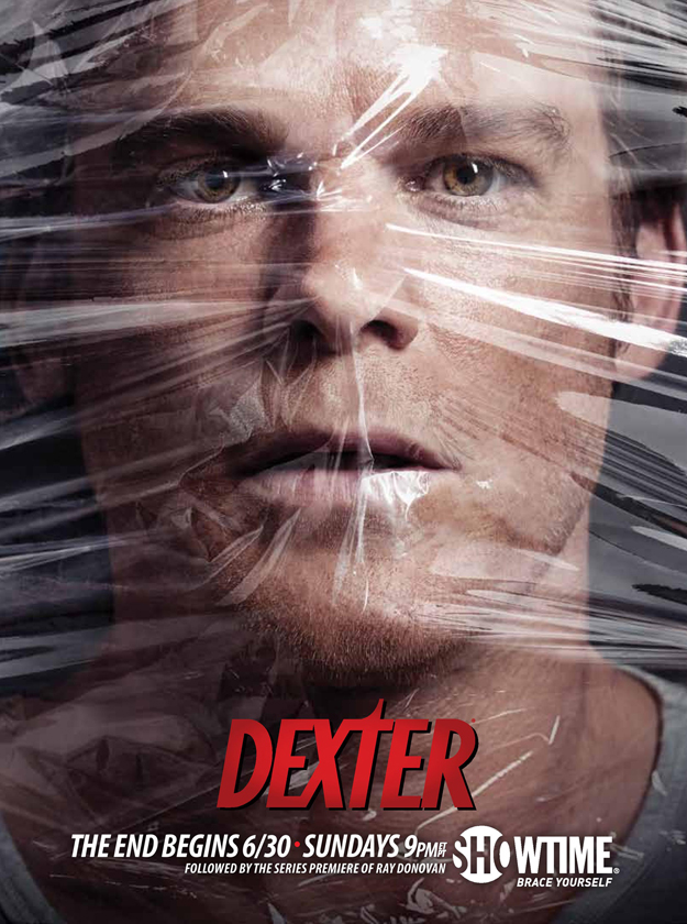 Dexter season 8 final season promo poster banner michael c hall rare hot sexy serial killer showtime series