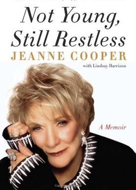 jeanne cooper the young and restless rip headshot rare promo  winning an emmy Jeanne Cooper's memoir was released last July.