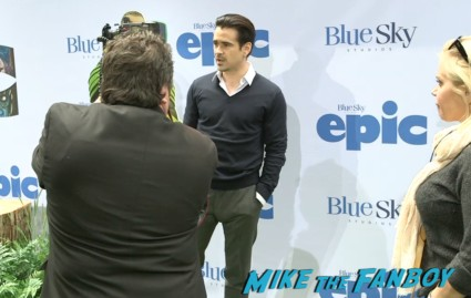 colin farrell  red carpet Epic World Movie Premiere Photo Gallery! Colin Farrell! Amanda Seyfried! Jason Sudeikis! Chris O'Dowd! Kyle MacLachlan! MTF On The Red Carpet!