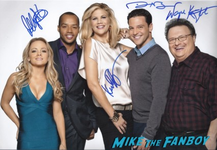 The Exes cast photo signed autograph kristen johnson rare promo tv land