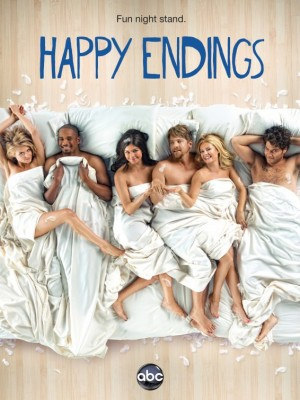 happy_endings_ver3 rare promo poster season 3 hot rare usa series