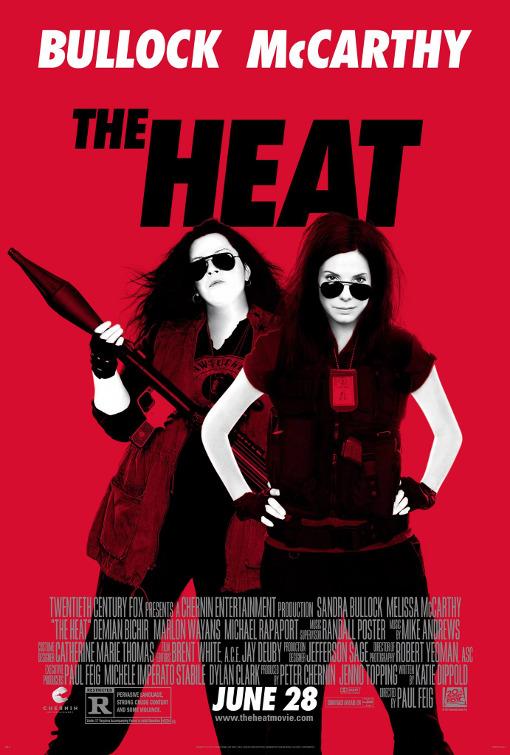 The Heat one sheet movie poster promo sandra bullock melissa mccarthy promo poster one sheet