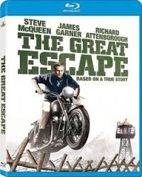the Great Escape 2013 blu ray cover key art rare promo steve mcqueen