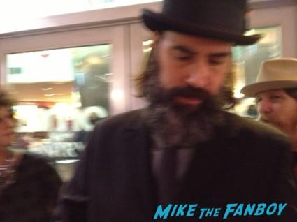 Jeff Daniel Phillips signing autographs for fans lords of salem movie premiere