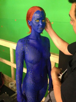 lawrence-mystique-small rare promo photo hot sexy katniss everdeen rare
