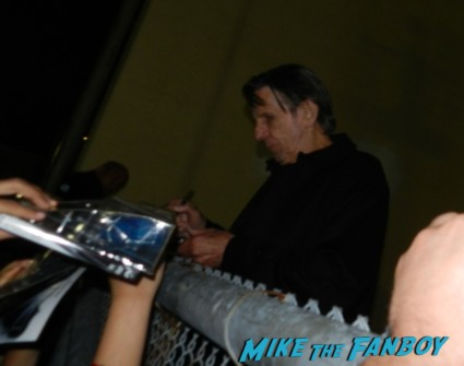 leonard nimoy signing autographs star trek q and a capetown film festival