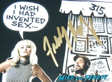 freddie rodriguez signed autograph cbgb mini poster signing autographs logan marshall green freddie rodriguez signing autographs 004