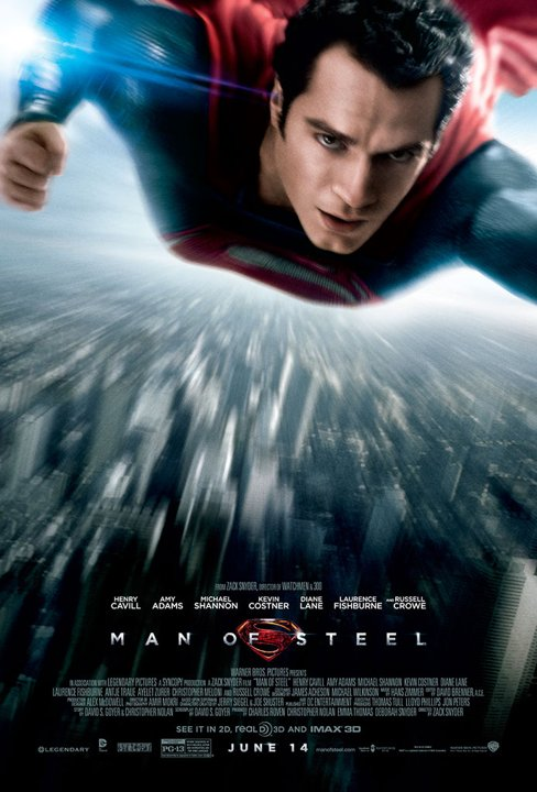 Henry Cavill hot sexy superman man of steel movie poster sex rare promo muscle flex rare one sheet movie poster promo manofsteel-finalposter