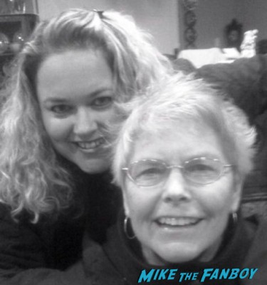 Pinky and her mom for Mother's day baby pinky lovejoy from mike the fanboy and her first celebrity photo