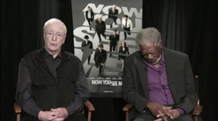 morgan freeman falling asleep during an interview for now you see me rare
