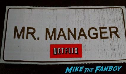 name badge mr. manager netflix arrested development The arrested Development banana stand the grove los angeles