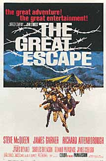 The great escape movie poster promo original one sheet movie poster