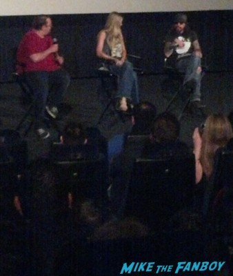 sheri moon zombie and rob zombie signing autographs q and a The Haunted World of El Superbeasto rare promo still hot rare dance rob zombie rare