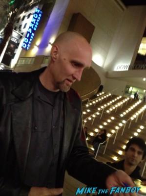 roger morrissey signing autographs for fans lords of salem movie premiere