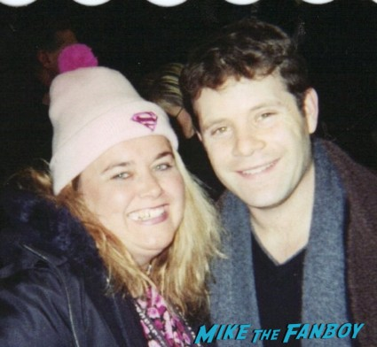 sean astin signing autographs for fans rare fan photo hot sexy hobbit