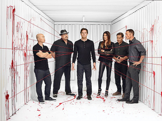 dexter season 8 cast photo rare blood spatters hot sexy rare Dexter season 8 final season promo poster banner michael c hall rare hot sexy serial killer showtime series