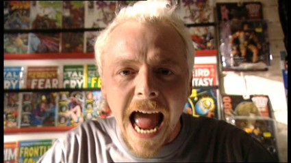 spaced simon pegg press promo still simon pegg gif star trek star refuses to sign for fans