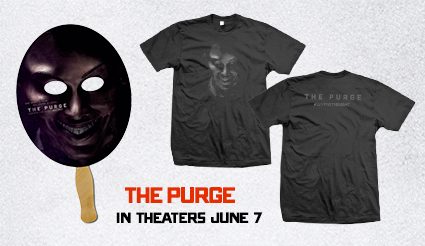 "The Purge swag set <img src=""http://www.mikethefanboy.com/wp-content/uploads/2013/05/Screen-Shot-2013-05-31-at-11.29.14-PM-e1370068323954.png"" alt=""The purge logo rare promo one sheet movie poster hot rare"" width=""650"" height=""111"" class=""aligncenter size-full wp-image-32109"" />"