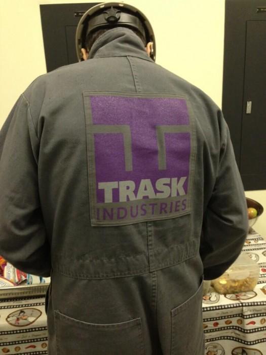 traskindustries trask industries logo rare bryan singer x-men days of future past tweeted photo hot