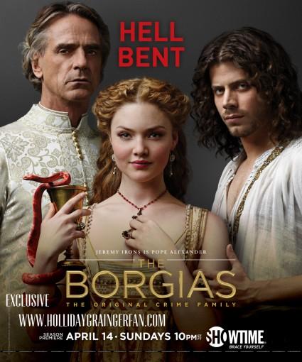 the borgias season 3 rare promo press still hot sexy jeremy irons rare
