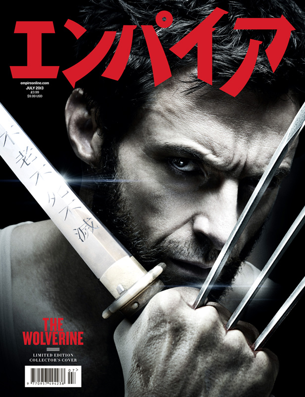 Wolverine Empire magazine adamantium infused cover hot sexy shirtless hugh jackman photo shoot