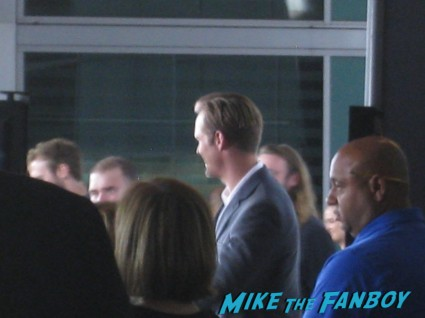 alexander Skarsgard signing autographs for fans at The East Movie Premiere Report! Karalee Meets Alexander Skarsgard! Ellen Page! James Cromwell! Autographs! Photos! And More!