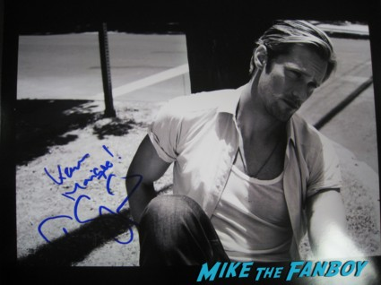 alexander skarsgard signed autograph photo rare hot sexy true blood vampire star rare sex eric northman promo