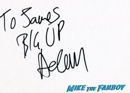 Kidulthood,Adam Deacon signing autographs fan photo rare promo