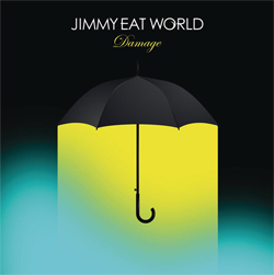Jimmy Eat World Damages CD Cover rare promo
