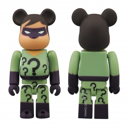 SDCC 2013 DC SUPER POWERS RIDDLER PREVIEWS EXCLUSIVE BE@RBRICK