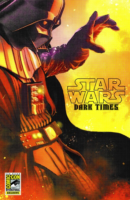 SDCC 2013 STAR WARS: DARK TIMES – THE SPARK REMAINS #1 EXCLUSIVE COVER san diego comic con cover