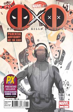 SDCC 2013 DEADPOOL KILLS DEADPOOL #1 EXCLUSIVE COVER san diego comic con exclusive 2013