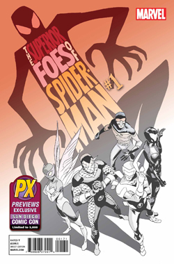 SDCC 2013 SUPERIOR FOES OF SPIDER-MAN #1 NOW EXCLUSIVE COVER