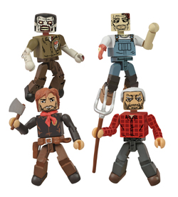 SDCC 2013 THE WALKING DEAD: HERSHEL'S FARM MINIMATES PREVIEWS EXCLUSIVE BOX SET