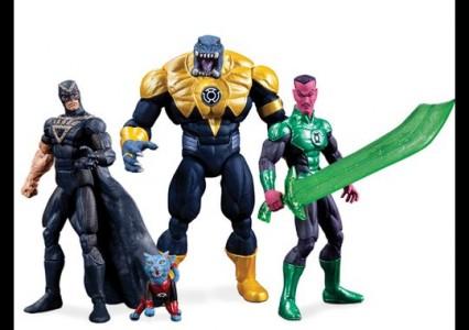 Superheroes of Green Lantern dc comics san diego comic con 2013 exclusive