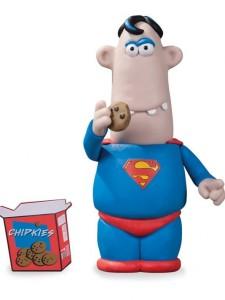 Aardman Superman figure dc comics san diego comic con 2013 exclusive