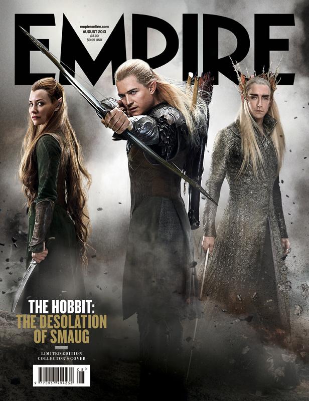 Empire Magazine logo rare the hobbit limited edition magazine cover orlando bloom promo photo