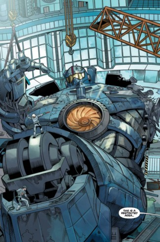 Pacific Rim takls from year zero logo graphic novel cover comic book art