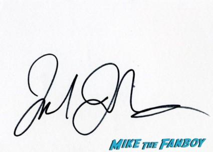 jake johnson signed autograph jake johnson signing autographs for fans hot fan photo rare promo