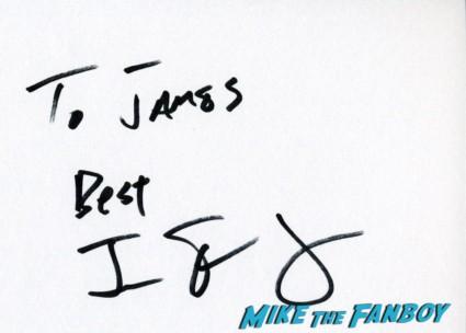 Jessie Eisenberg fan photo signing autographs for fans promo