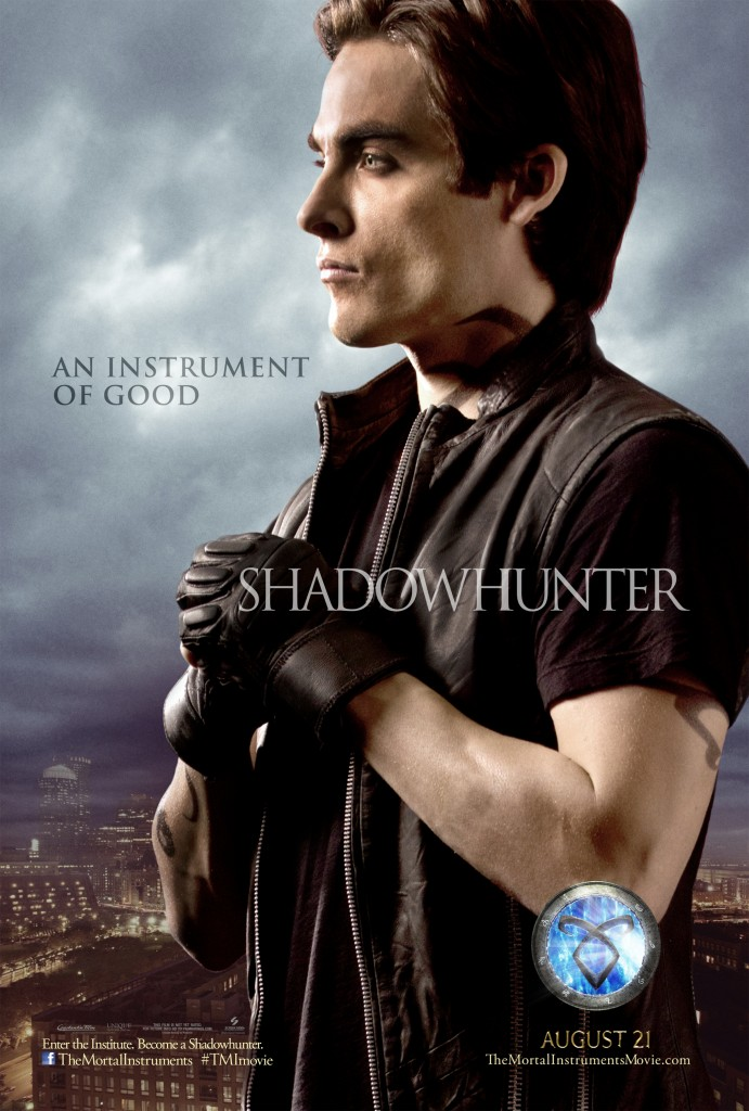 ALec-Lightwood magnus poster mortal instruments individual movie poster promo