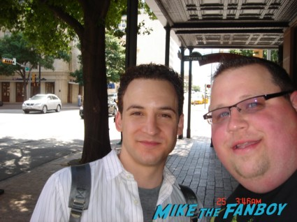 Ben Savage signing autographs for fans in austin texas film festival rare promo ATX-Fest-2013-015
