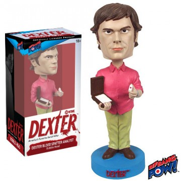 Dexter Blood Spatter Analyst Bobble Head sdcc 2013 exclusive