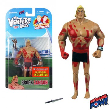 The Venture Bros. Naked Brock Samson 3 3/4-Inch Action Figure sdcc 2013 exclusive