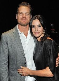 Courteney Cox Brian Van Holt couple cougar town stars